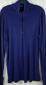 PATAGONIA Mens Mock Neck 1/4 Zip Pullover XL